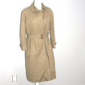Burberrys' Vintage Long Trench Coat w/ Wool lining